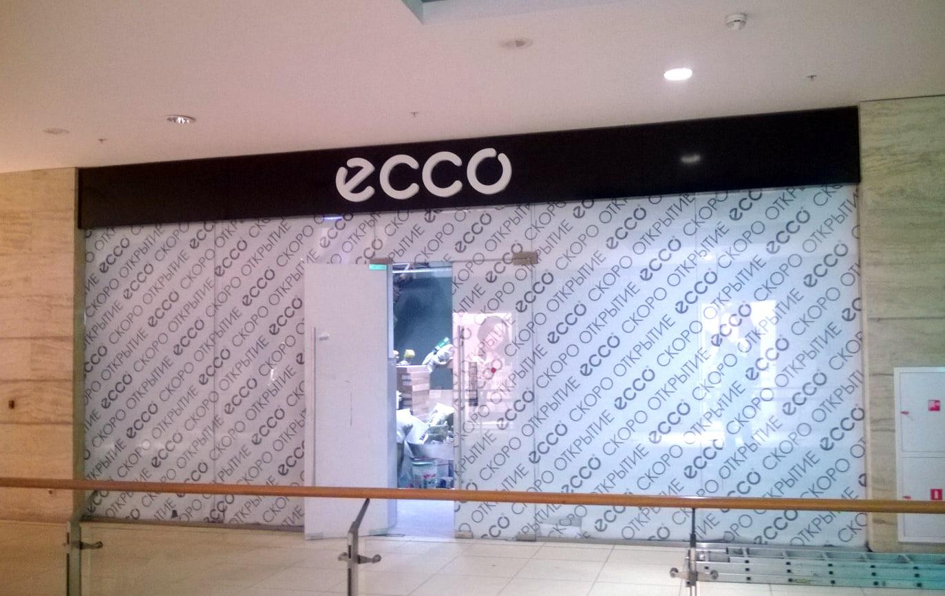 Оформление Ecco